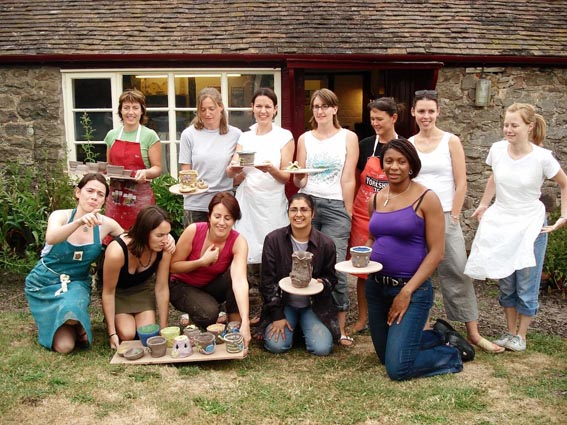 special occasion pottery workshop held at eastnor pottery
