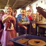 Pottery birthday parties at Eastnor Pottery, Herefordshire