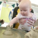 Claybaby exploritary fun at Eastnor Pottery