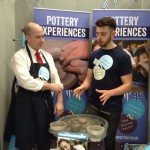 Ethan Powell at Eastnor Pottery & The Flying Potter