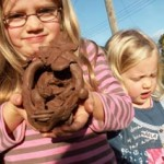 Children's workshops at Eastnor Pottery, Herefordshire