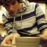 Arts workshops for further education led by Jon Williams from Eastnor Pottery & The Flying Potter