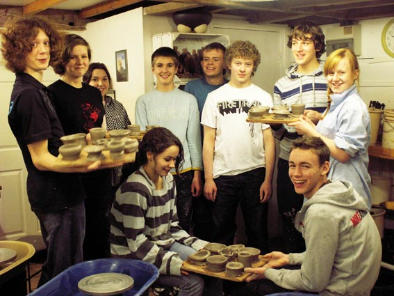 ceramics workshops for high schools led by jon williams