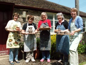 Special Occasion Workshops at Eastnor Pottery, Herefordshire