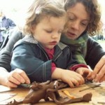 Pottery workshops for family and friends at Eastnor Pottery, Herefordshire