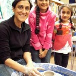 Flying Potter workshops led by Jon the Potter from Eastnor Pottery