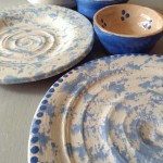 Fired examples of the pottery you can make at Eastnor Pottery