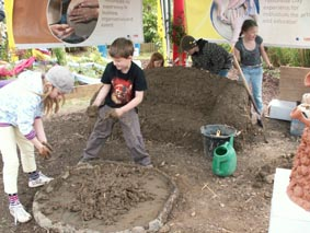 Festivals and Events; Workshops provided by Eastnor Pottery, Herefordshire