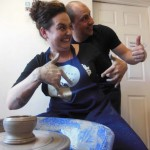 Fun and creative away day at Eastnor Pottery Herefordshire