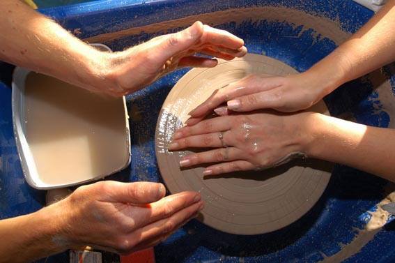 pottery for special events & fun days led by eastnor pottery & the flying potter