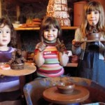 Children's School Holiday Workshops at Eastnor Pottery, Herefordshire