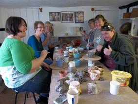 Pottery Hand-building Taster Sessions, Eastnor Pottery, Herefordshire