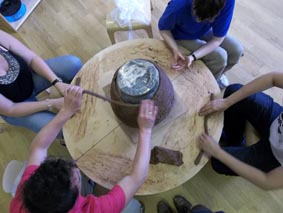 Early Years Workshop, Eastnor Pottery, Herefordshire