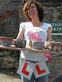 Jen's Pottery Hen Party at Eastnor Pottery