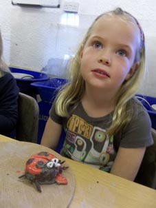 pottery birthday party at eastnor pottery herefordshire