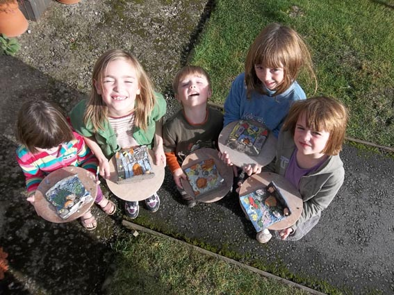 pottery workshop for children in 1/2 term at eastnor pottery & the flting potter herefordshire