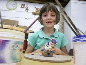 Children's Pottery Birthday Parties at Eastnor Pottery