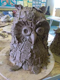 Gotherington Primary Collaborative Clay Owl