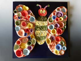 St Thomas Hungry Caterpillar Butterfly