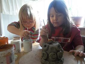 drop-in clay sessions at eastnor pottery in herefordshire