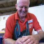 Alan tries pottery for the first time at Eastnor Pottery in Herefordshire