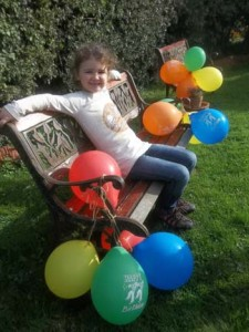 Maxina recently celebrated her 6th birthday with friends at Eastnor Pottery in Herefordshire