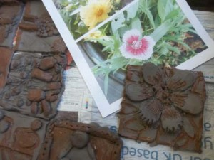 Worcestershire school clay project with ceramic artist Jon Williams