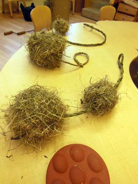 hay balls at Craftplay Bilston wolverhampton