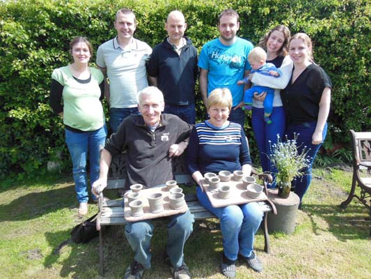Son buys mum & dad a creative potter's wheel family workshop