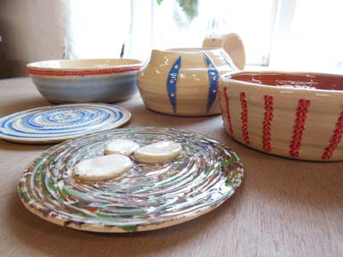 hand made unique and personal idea to make your own pottery christmas presents at eastnor pottery herefordshire 2014