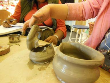 Early years clay play sessions