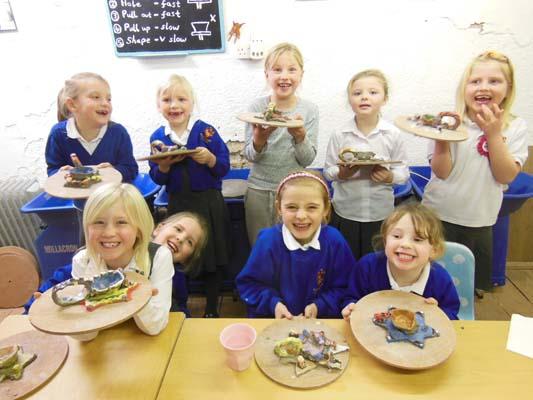 Birthday celebration in Pottery near Ledbury