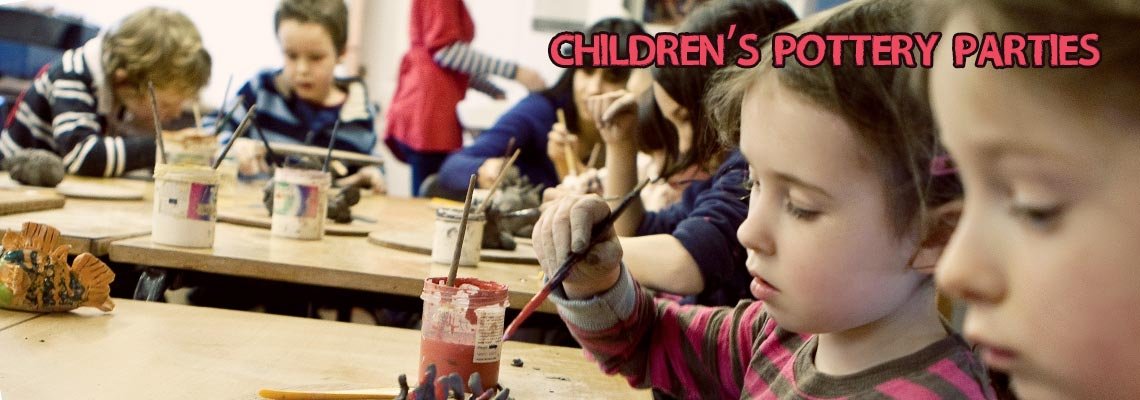 Children's Pottery Parties