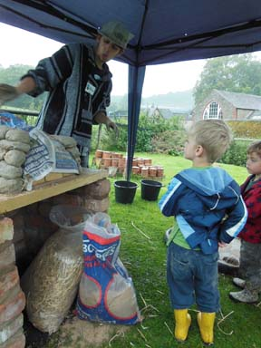 Apprentice at Eastnor Pottery Herefordshire