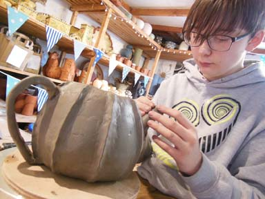 Work experience placements at Eastnor Pottery Herefordshire