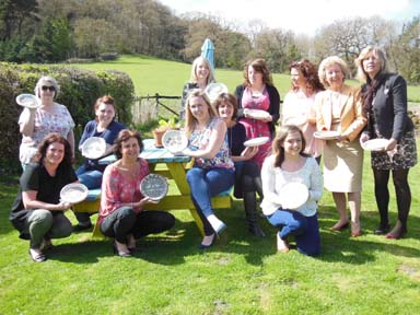 Pottery hen do at Eastnor Pottery