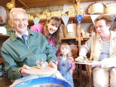 Pottery fun for all the family whatever age