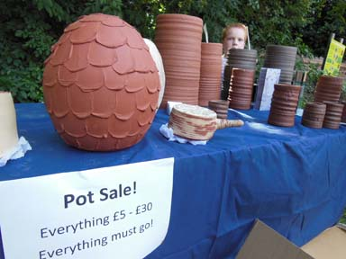 Clay pot sale at Bilston