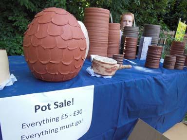 Clay pot sale at Bilston