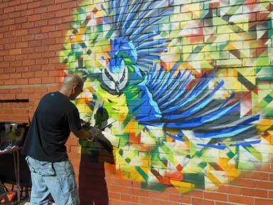Creative wall art by steve edwards