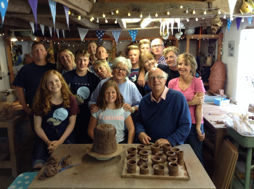 Big Family Fun at Eastnor Pottery
