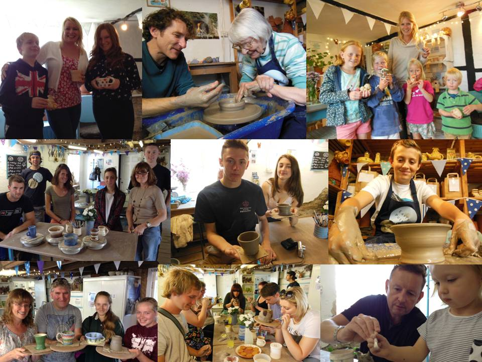 Eastnor Pottery Busy Summer Group Workshops