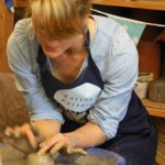 Hen at the Potter's Wheel