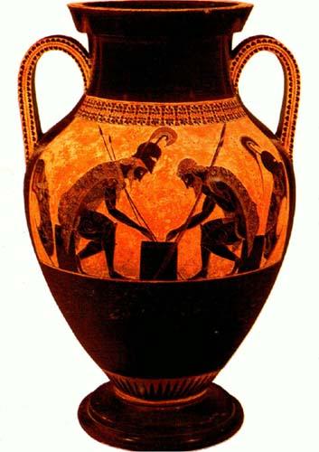 Example of Ancient Greek ceramic work