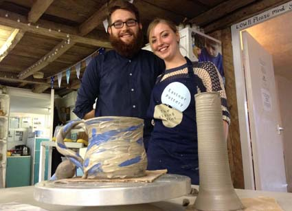 Great weekend holdiay at Eastnor Pottery