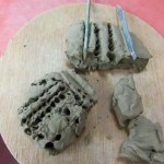 Create shapes in clay at Ledbury Primary School Nursery