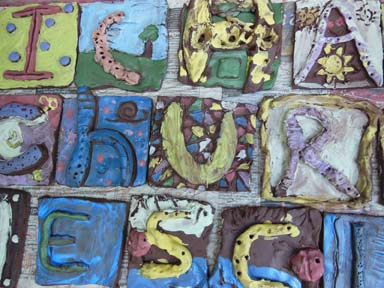 Pottery project with Herefordshire primary school