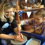 Drop-in at Eastnor Pottery to learn to throw on the Potter's Wheel
