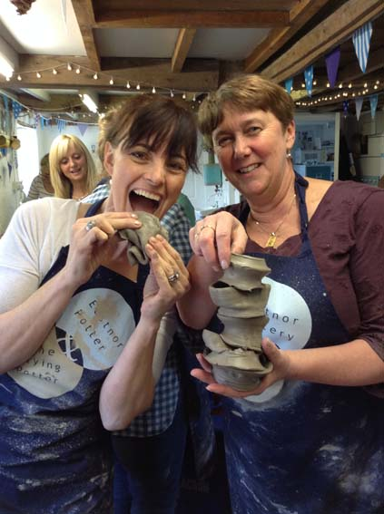 Birthday celebrations at Eastnor Pottery