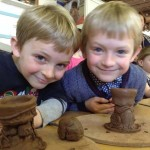 Hard Boiled Children's Easter Holiday Workshop with Eastnor Pottery